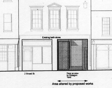 Shopfront drawing