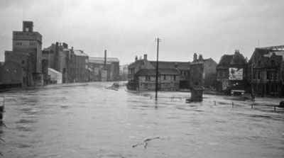 Floods in 1954