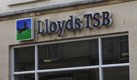 Lloyds signs