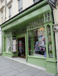 paperchase shopfront