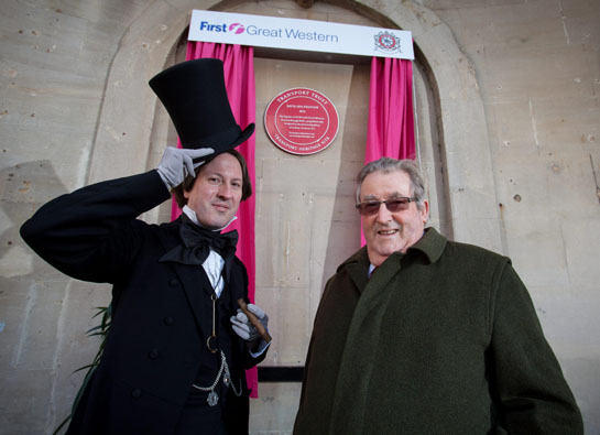 Sir William with Brunel