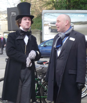 Brunel with Station Manager